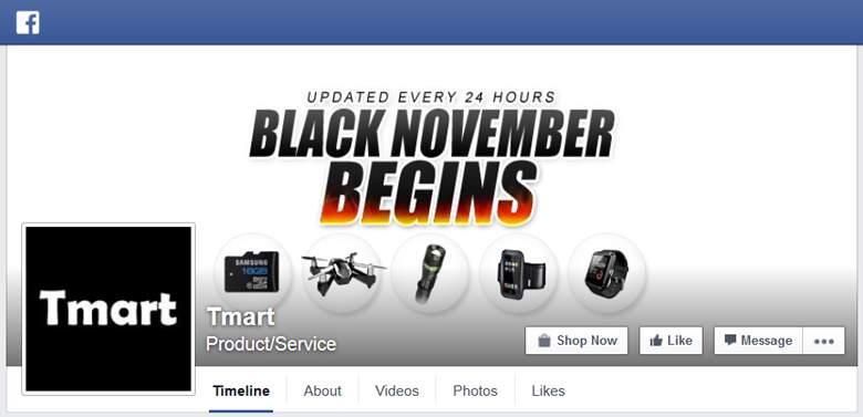 Tmart on Facebook