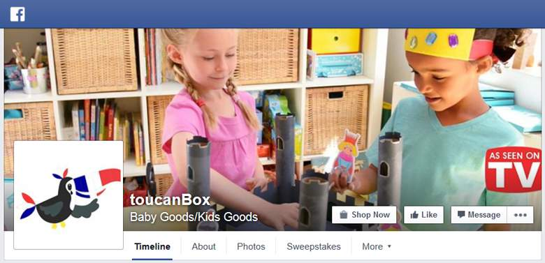 Toucan Box on Facebook