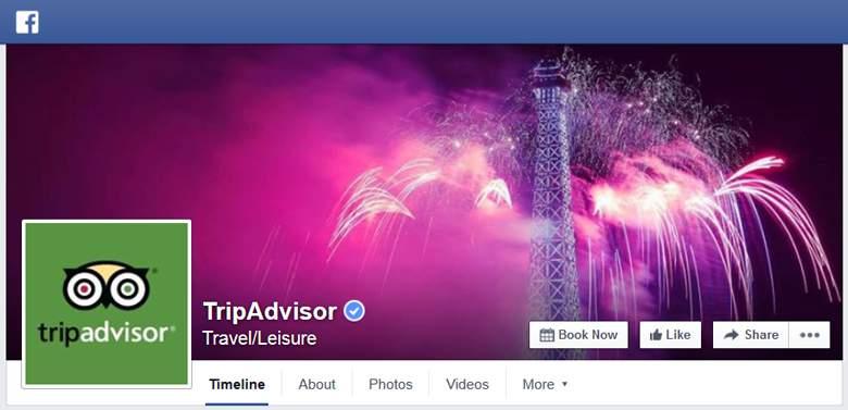 TripAdvisor on Facebook