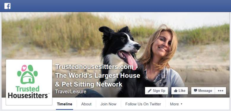 Trustedhousesitters on Facebook