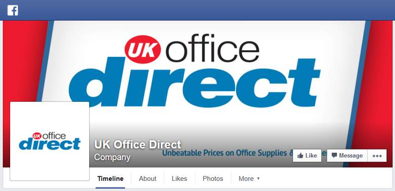 UK Office Direct on Facebook
