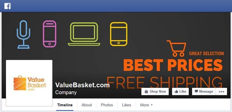 ValueBasket on Facebook