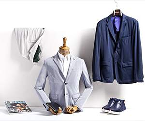 Men's clothing by Van Mildert
