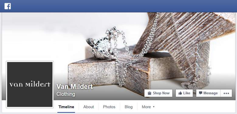 Van Mildert on Facebook