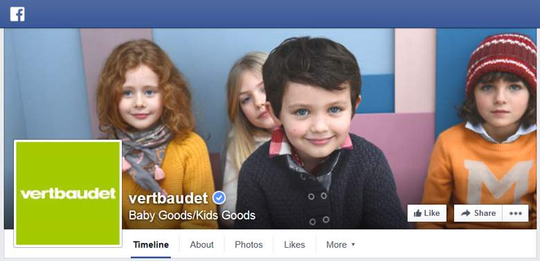 Vertbaudet on Facebook