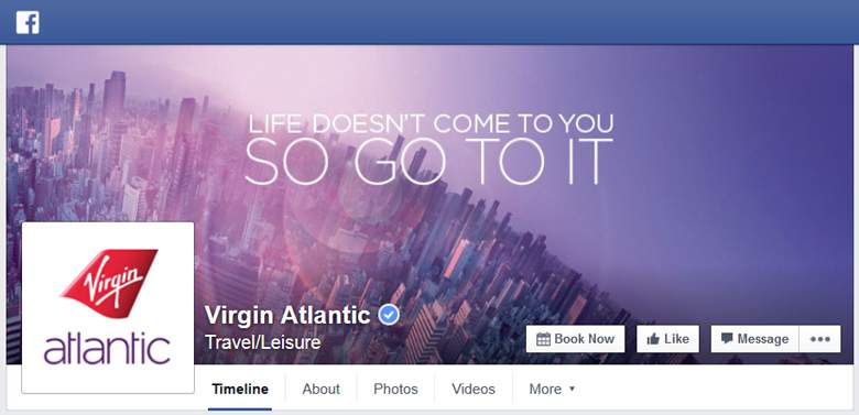 Virgin Atlantic on Facebook