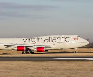 Flight with Virgin Atlantic