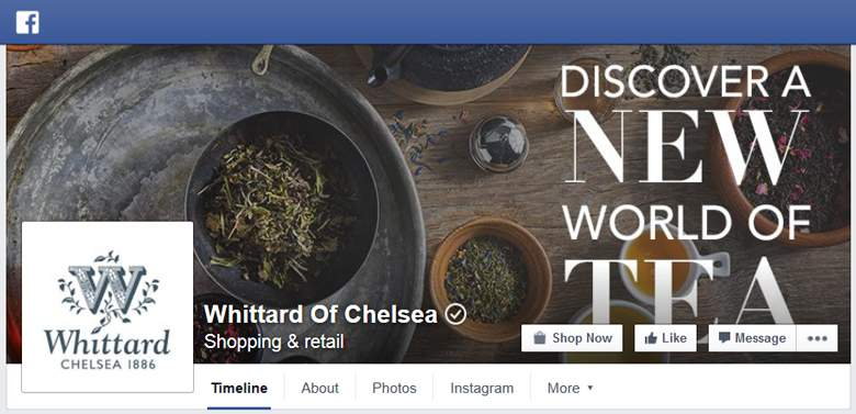 Whittard of Chelsea on Facebook