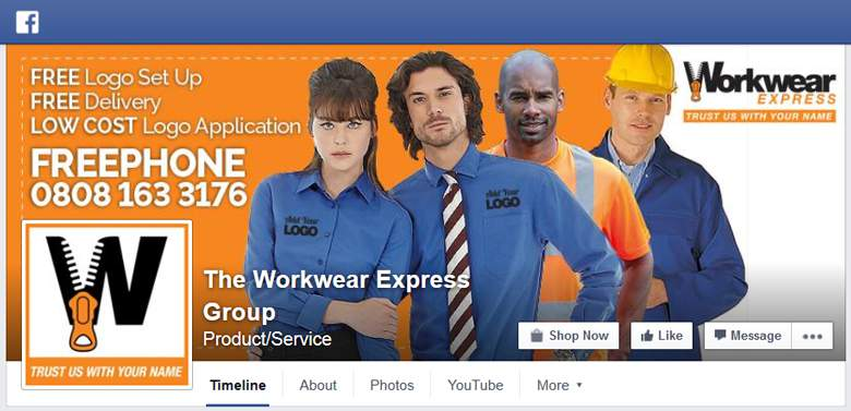 Workwear Express on Facebook
