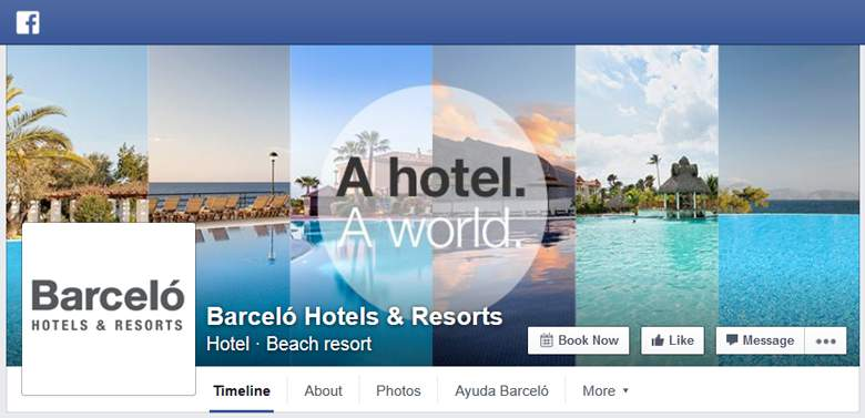 Barcelo on Facebook
