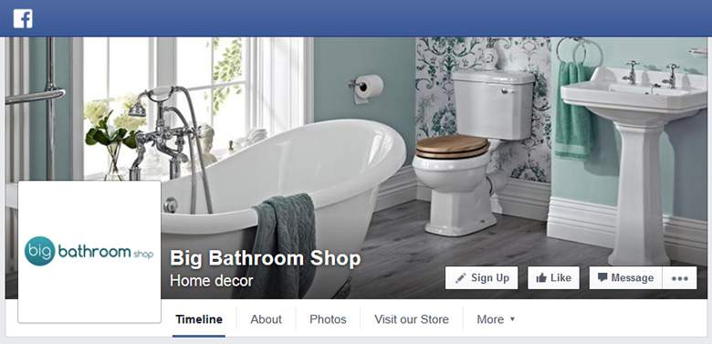 Big Bathroom Shop on Facebook