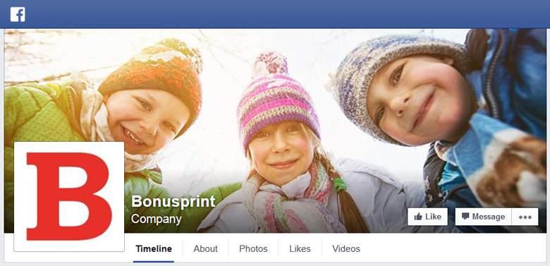 Bonusprint on Facebook