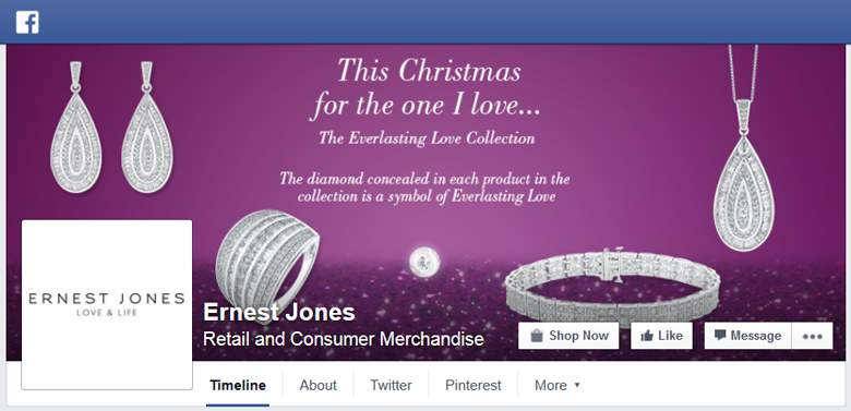 Ernest Jones on Facebook