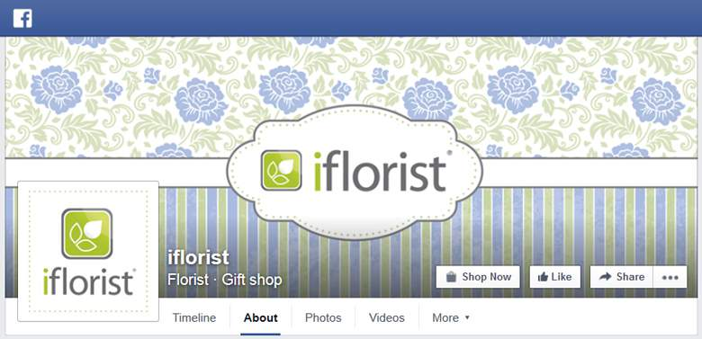 iFlorist on facebook