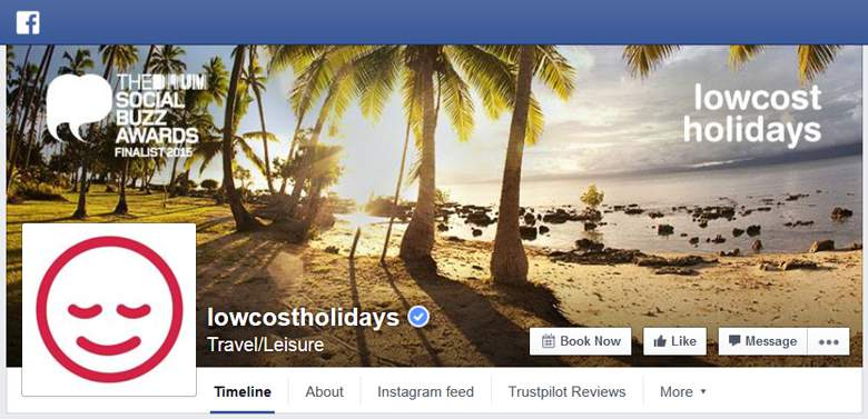 Lowcostholidays on Facebook