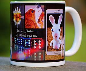 Photo mug by Snapfish